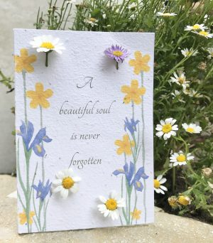 Front of flowering Gift Card